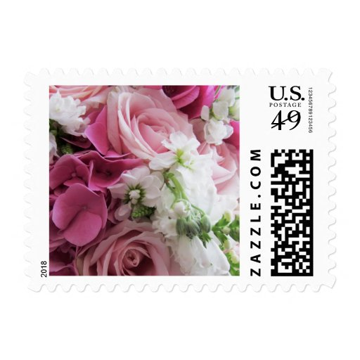 Bouquet of Roses Postage Stamp Stamp