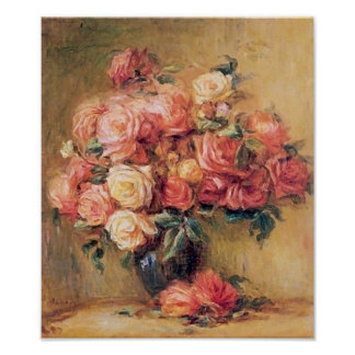 Bouquet of Roses Wall Art Deco Print