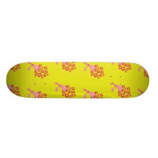 Bouquet of Roses yellow Custom Skateboard