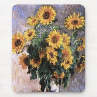 Bouquet of sunflower mouse pads