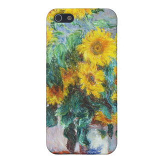 Bouquet of Sunflowers, 1880 Claude Monet Cover For iPhone SE/5/5s