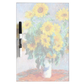 Bouquet of Sunflowers, 1880 Claude Monet Dry-Erase Whiteboards