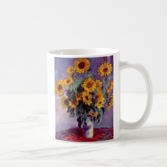 Bouquet of Sunflowers by Claude Monet Coffee Mug