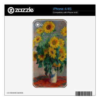 Bouquet of Sunflowers Skin For The iPhone 4S