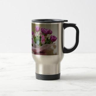 Bouquet of Tulips Travel Mug