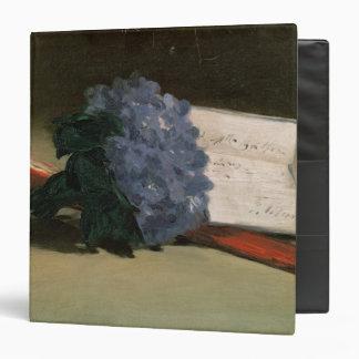 Bouquet of Violets, 1872 3 Ring Binder