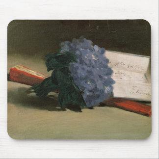 Bouquet of Violets, 1872 Mousepad