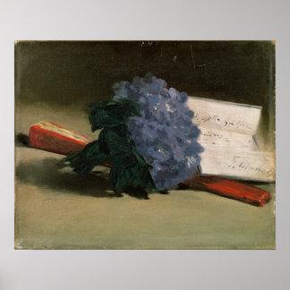 Bouquet of Violets, 1872 Posters