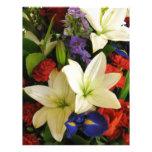 Bouquet Personalized Letterhead