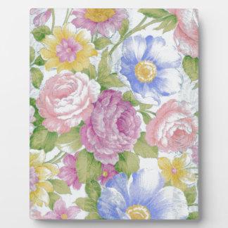 Bouquet Plaque