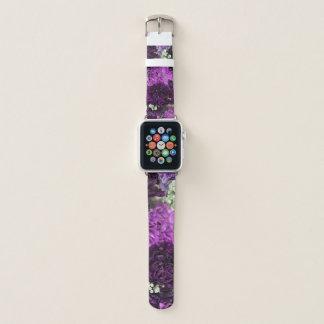 Bouquet Purple Carnations Apple Watch Band