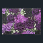 "Bouquet Purple Carnations Kitchen Towel<br><div class=""desc"">Deluxephotos features bouquet purple carnations kitchen towel. Available in other colors, sizes and/or styles. Be Smart Save Money Shop Online on my Deluxephotos Zazzle Store. **IMAGE ARTWORK/PHOTO COPYRIGHTS** This image artwork and/or photo belongs to me (Rockin Docks deluxephotos division of deluxecontractorforms.com) and is not to be sold without my permission....</div>"