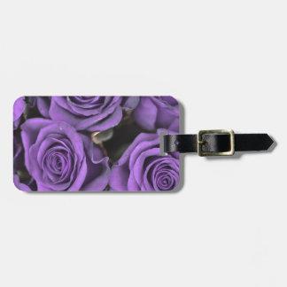 bouquet purple rose roses date rsvp bridal destiny bag tag