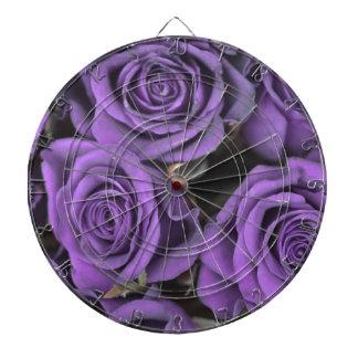 bouquet purple rose roses date rsvp bridal destiny dartboard with darts