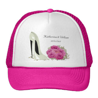 Bouquet Roses and Wedding Stiletto Gifts Hat