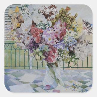 Bouquet Square Sticker