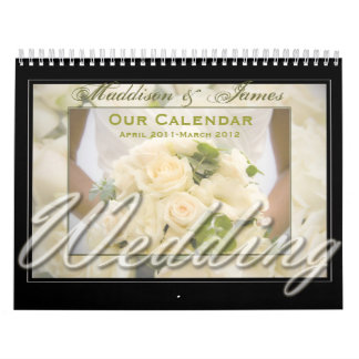Bouquet Themed Calendar