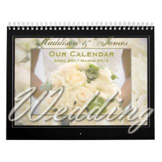Bouquet Themed Calendar