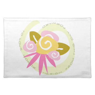 Bouquet This Day Forward Placemat