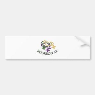Bourbon Beads Bumper Sticker
