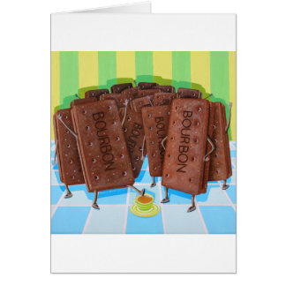 Bourbon Cream Tea Card