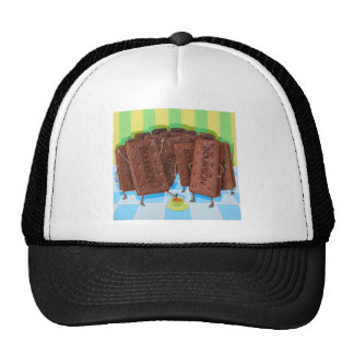 Bourbon Cream Tea Mesh Hats