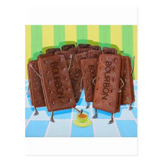 Bourbon Cream Tea Postcard