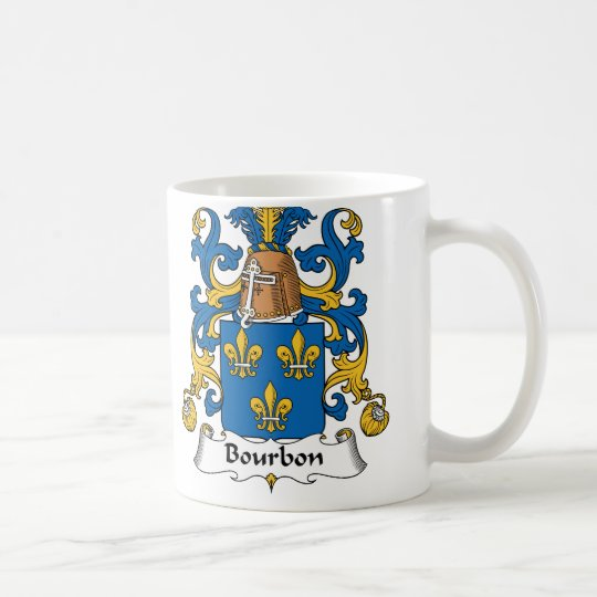 Bourbon Family Crest Coffee Mug