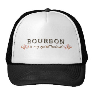 Bourbon Is My Spirit Animal Trucker Hat