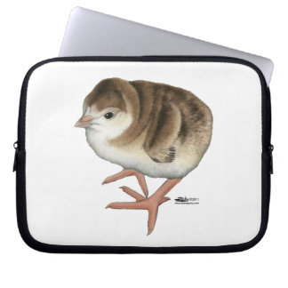 Bourbon Red Turkey Poult Laptop Computer Sleeves