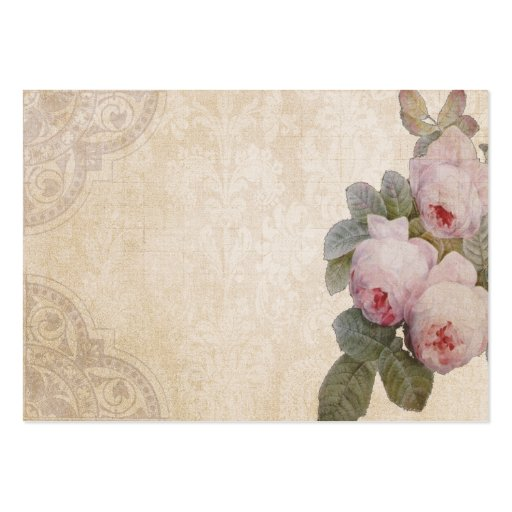 Bourbon Rose Special Event Place Card Business Card