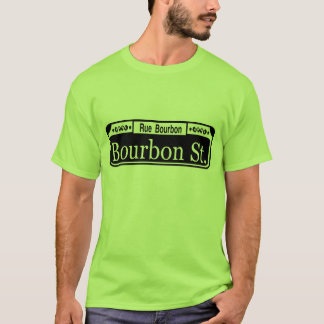 Bourbon St French Quarter T-Shirt