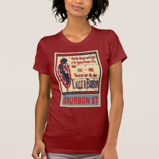 Bourbon St New Orleans T-Shirt