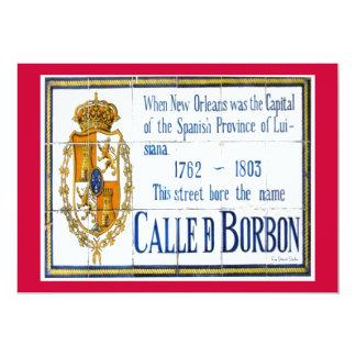 Bourbon St  Tile Mural Card