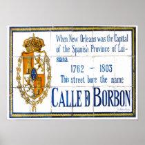 Bourbon St Tile Mural posters