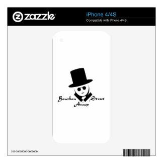 Bourbon Street Annex Logo Decals For iPhone 4