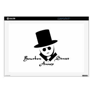 "Bourbon Street Annex Logo Skin For 17"" Laptop"