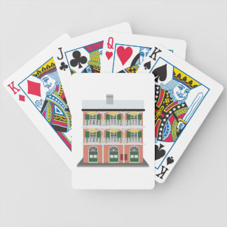 Bourbon Street Building Bicycle Playing Cards