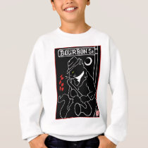 Bourbon Street Cat Sweatshirt