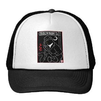 Bourbon Street Cat Trucker Hat