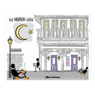 Bourbon Street Hangovers Postcard