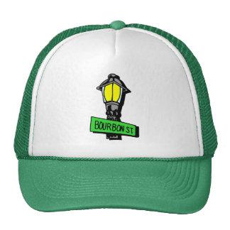 Bourbon Street Mardi Gras Trucker Hat