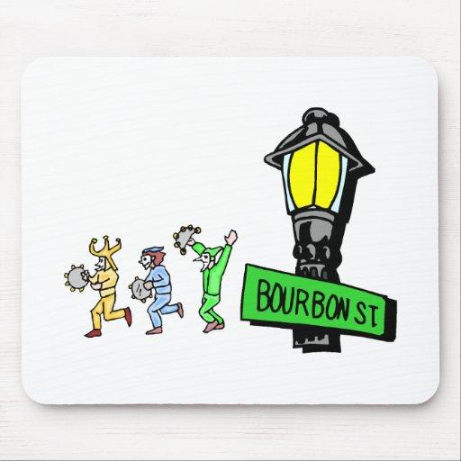 Bourbon Street Mouse Pad