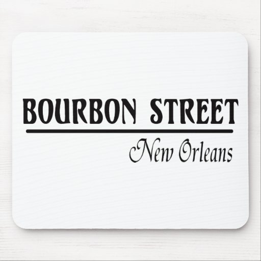Bourbon Street New Orleans Mouse Pad
