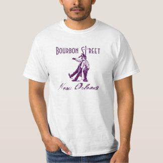Bourbon Street NOLA New Orleans Classic Drunk Post T-Shirt