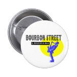 Bourbon Street Pinback Button