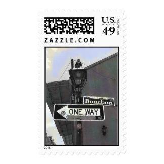 Bourbon Street  Postage Stamps