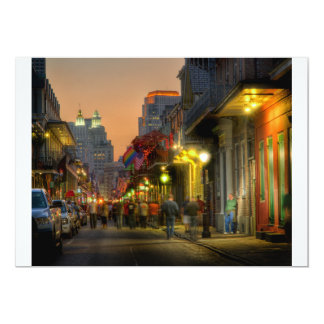 Bourbon Street Sunset Invitation