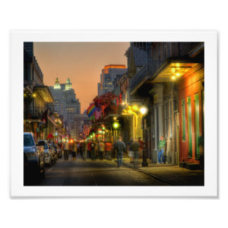 Bourbon Street Sunset Print