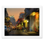 Bourbon Street Sunset Print Photo Print